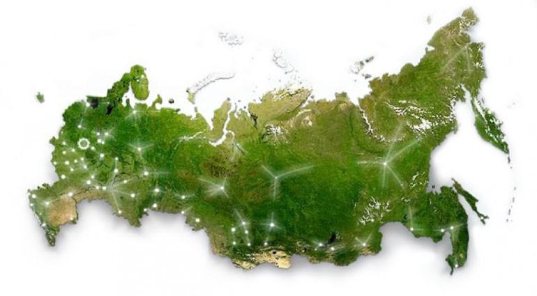 Займы по всей России